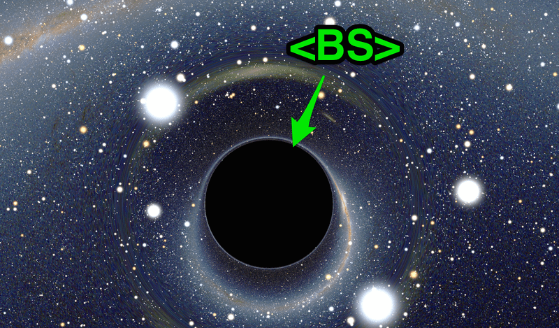 BS to Black Hole